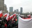 Protest przeciw imigrantom. Marsz ONR przeszedł ulicami Warszawy