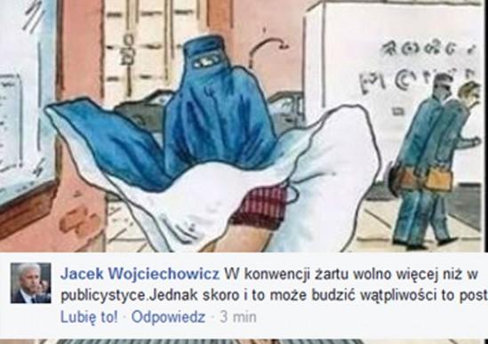 Źródło: Facebook/Jacek Wojciechowicz