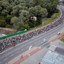 """Jutro przejazd """"Warszawskiej Masy Krytycznej"""". Spore utrudnienia w ruchu"""