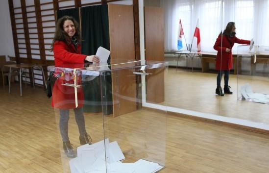 Referendum w Legionowie. Fot. PAP/Leszek Szymański
