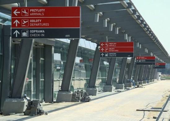 Fot. Lotnisko w Modlinie.