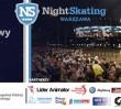 Nightskating Warszawa. Rolkarze na ulicach Warszawy pierwszy raz w tym sezonie
