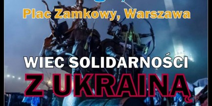 Wiec solidarności z Ukrainą!