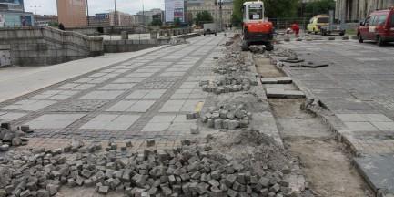 Ruszyła budowa Strefy Kibica (zdjęcia)