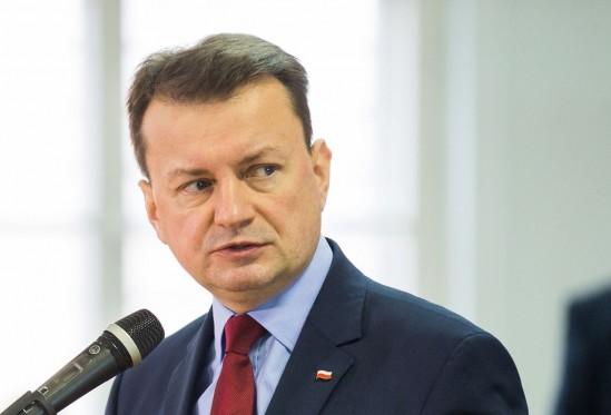 Minister Błaszczak. Fot. PAP/Jerzy Muszyński
