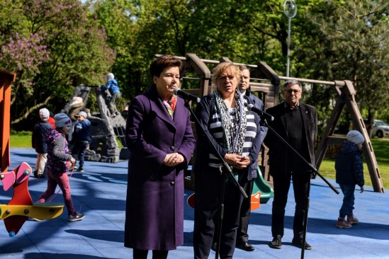Briefing prezydent warszawy dotyczący zniesienia opłat. Fot. Mat prasowe