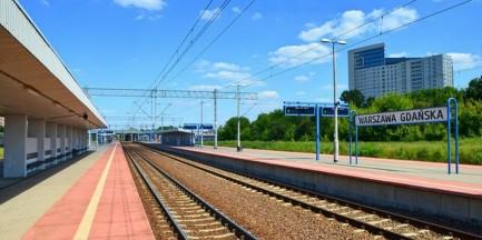Ruszyła rozbudowa stacji Warszawa Gdańska