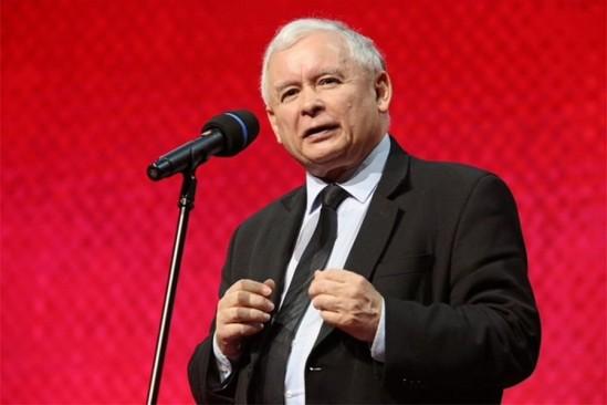 Jarosław Kaczyński. Fot. PAP/Radek Pietruszka