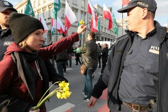 Kobiety zablokują marsz ONR? Fot. Agata Grzybowska / Agencja Gazeta