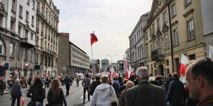 """Protesty związkowców w stolicy. """"4 różne trasy, nawet 50 tys. osób"""""""
