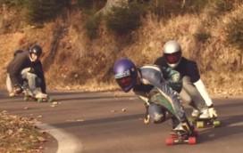 Longboardy w Warszawie (wideo)