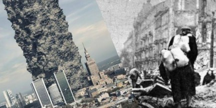 Wieżowiec z warszawskich gruzów. To zdjęcie pokazuje ogrom zniszczeń po wojnie
