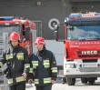 Pożar samochodu dostawczego. Marszałkowska zablokowana