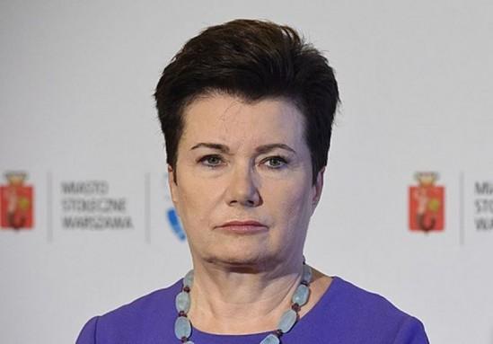 Hanna Gronkiewicz-Waltz. Fot. Radek Pietruszka/PAP