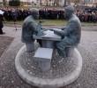W Warszawie stanął nowy pomnik. Henryka Sławika oraz Józsefa Antalla seniora