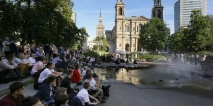 Plac Grzybowski: posadź drzewo z pamiątkową tabliczką! Aukcja ratusza dla WOŚP