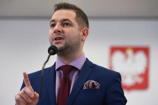 Patryk Jaki odpowiedział prezydent stolicy. Fot. Bartłomiej Zborowski/PAP