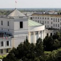 Ul. Wiejska . Widok z IX pietra na Sejm i przylegle budynki . Fot . Sławomir Kamiński / Agencja Gazeta
