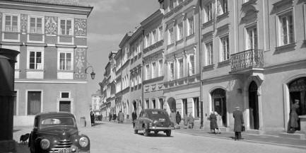 Warszawa lat 50. [NIESAMOWITE ZDJĘCIA]