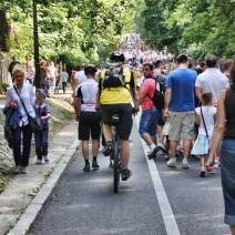 Śródmieście nie dla rowerów!