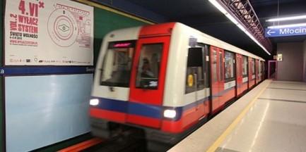 Przypominamy: w weekend zamknięte stacje metra Imielin i Kabaty