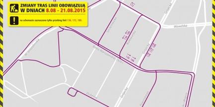 Remont torów tramwajowych na Grójeckiej. Zmiany w komunikacji