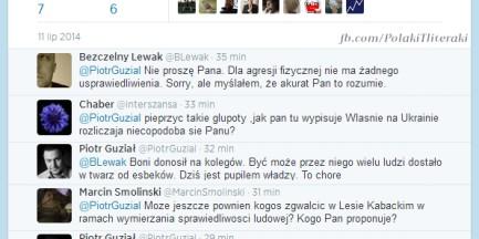 Piotr Guział broni Janusza Korwin-Mikkego [WIDEO]