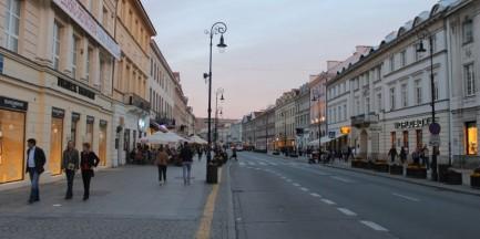 Nowy Świat najdroższą ulicą handlową w Polsce [WIDEO]