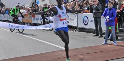 Kenijczyk Limo Kiprop zwycięzcą 10. Półmaratonu Warszawskiego