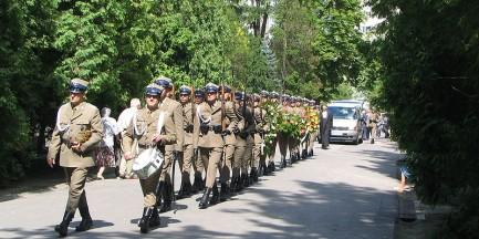 Jest zarzut za zakłócanie pogrzebu Jaruzelskiego