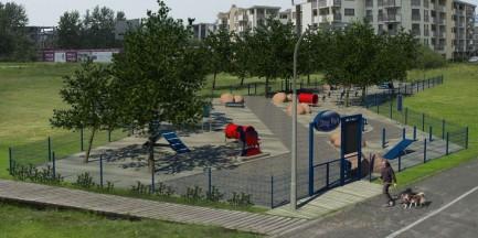 W Wilanowie powstał plac zabaw dla psów