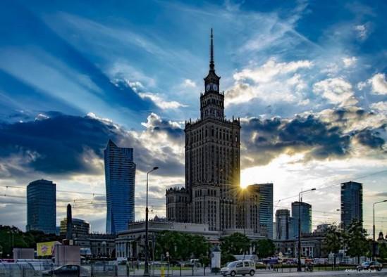 PKiN w Warszawie. Fot. Anton Lukashuk
