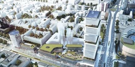 200-metrowy wieżowiec za 350 mln euro stanie przy Centralnym [WIZUALIZACJE]