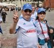 Turyści w Warszawie: Anglicy na Targówku