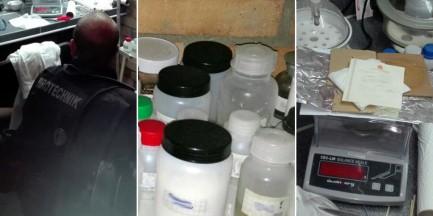 Wielka akcja CBŚP. Funkcjonariusze przejęli 150 kg chemikaliów do produkcji materiałów wybuchowych