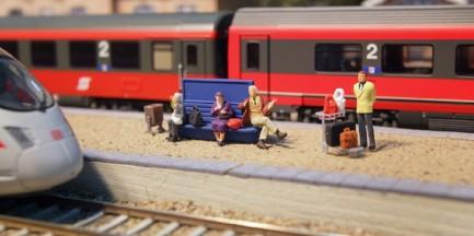 Świat kolei w miniaturze. Niecodzienna wystawa na PGE Narodowym