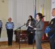 Prezydent Warszawy nagrodziła strażniczki miejskie. Eskortowały rodzącą kobietę