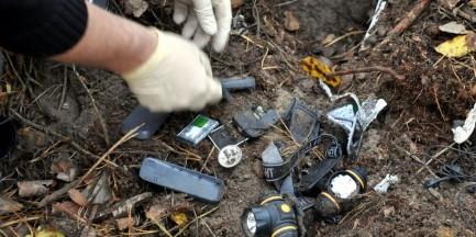 Biżuterię za 200 tys. zł zakopali w lesie [zdjęcia]