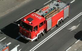 Olbrzymi pożar w Wólce Kosowskiej