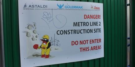 Wyciek gazu na budowie metra!