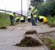 Skazani wysprzątali 735 tys. m kw chodników!