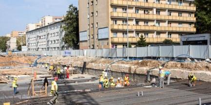 Robotnik zmarł na budowie metra w Warszawie. Prokuratura wszczęła śledztwo