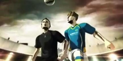 Chiny promują Euro 2012 (wesołe)