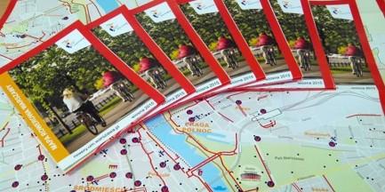 Wiosenna edycja mapy rowerowej już gotowa