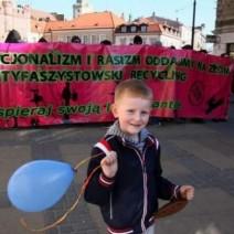 Razem przeciwko nacjonalizmowi - demonstracja na ulicach Warszawy