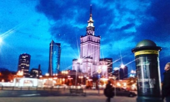 Pałac Kultury i Nauki. Fot. Kamila Chojnacka
