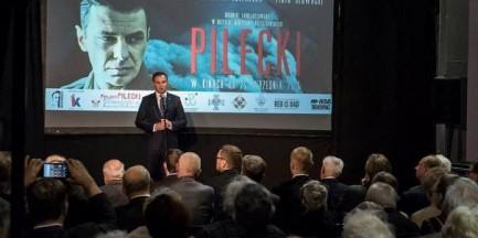 Premiera dokumentu o rotmistrzu Pileckim z udziałem prezydenta Andrzeja Dudy