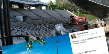 Festiwal w Opolu odbędzie się na Bemowie? Tak chciałby wiceburmistrz dzielnicy