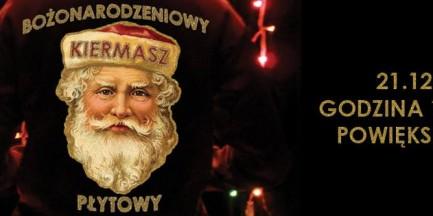 Bożonarodzeniowy Kiermasz Płytowy w Powiększeniu