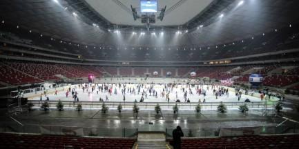 Ostatni tydzień lodowiska na Stadionie Narodowym